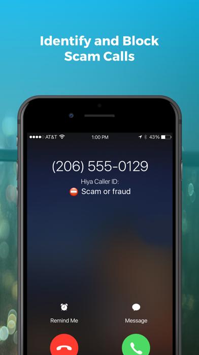 Hiya: Caller ID & Spam Blocker Screenshot