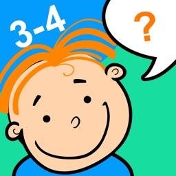 Тесты - развитие ребенка 3-4 г