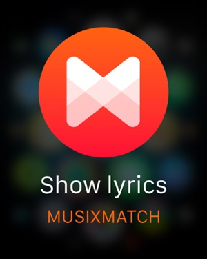 Musixmatch Lyrics Finder on the App Store
