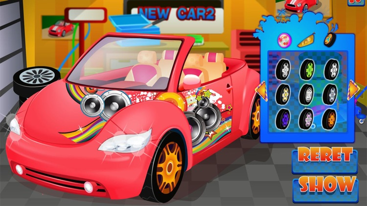 Super car wash game & mechanic screenshot-7