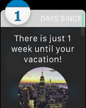 Countdown Days Since & Until on the App Store