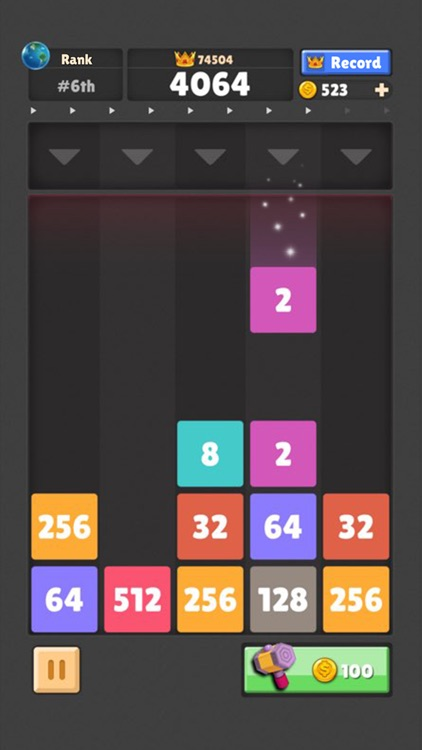 Drop The Number : Merge Puzzle screenshot-3
