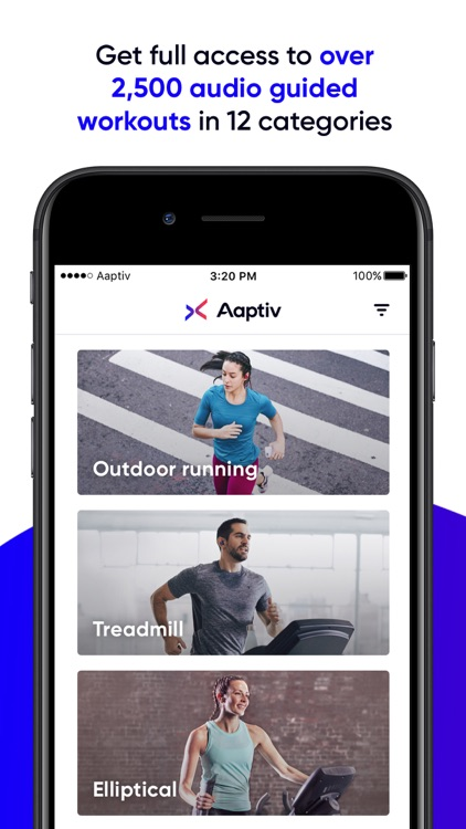 Aaptiv: #1 Audio Fitness App screenshot-0