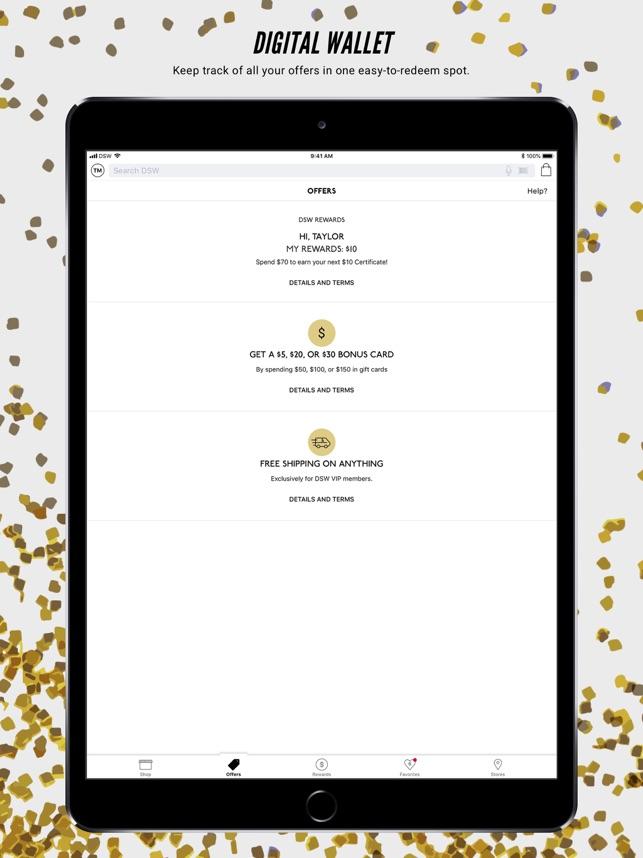 55dedf09e59  DSW Designer Shoe Warehouse on the App Store