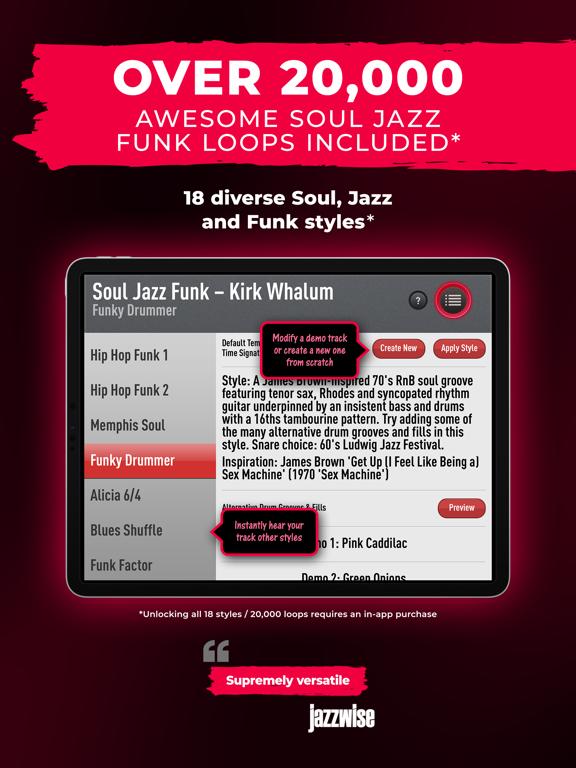 SessionBand Soul Jazz Funk 2 screenshot 14
