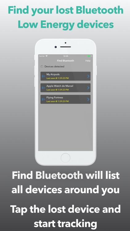 Find Bluetooth screenshot-0