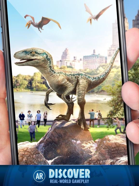 Jurassic World Alive-ipad-3