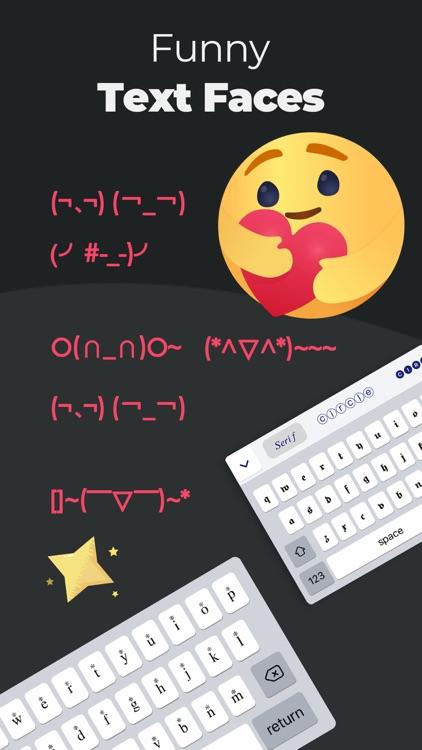 Fonts: Aα, Font Keyboard screenshot-3