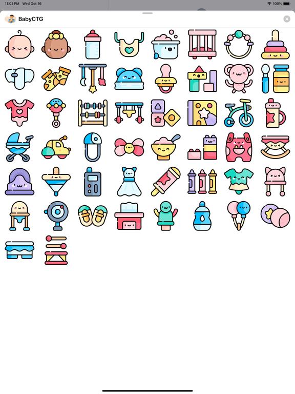 BabyCTG Sticker screenshot 5