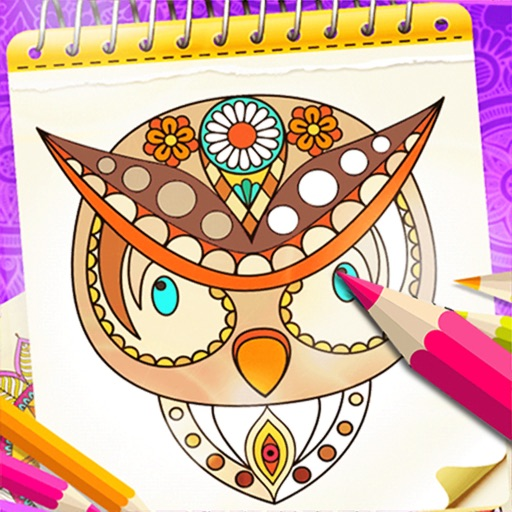 Coloring Book Number Color Art