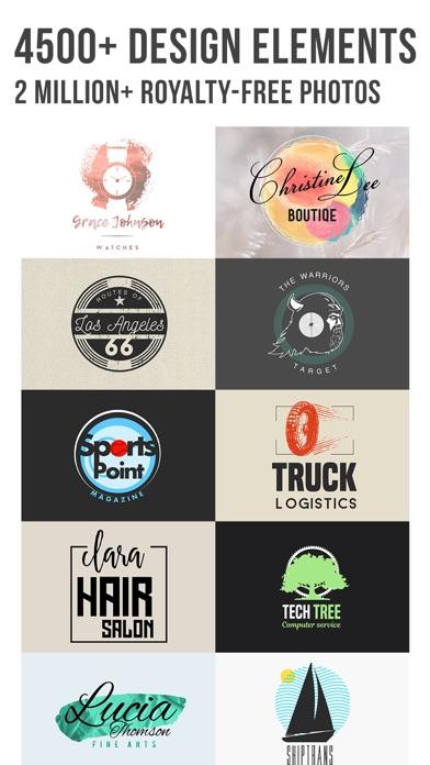 Logo Maker   Vintage Design Screenshots
