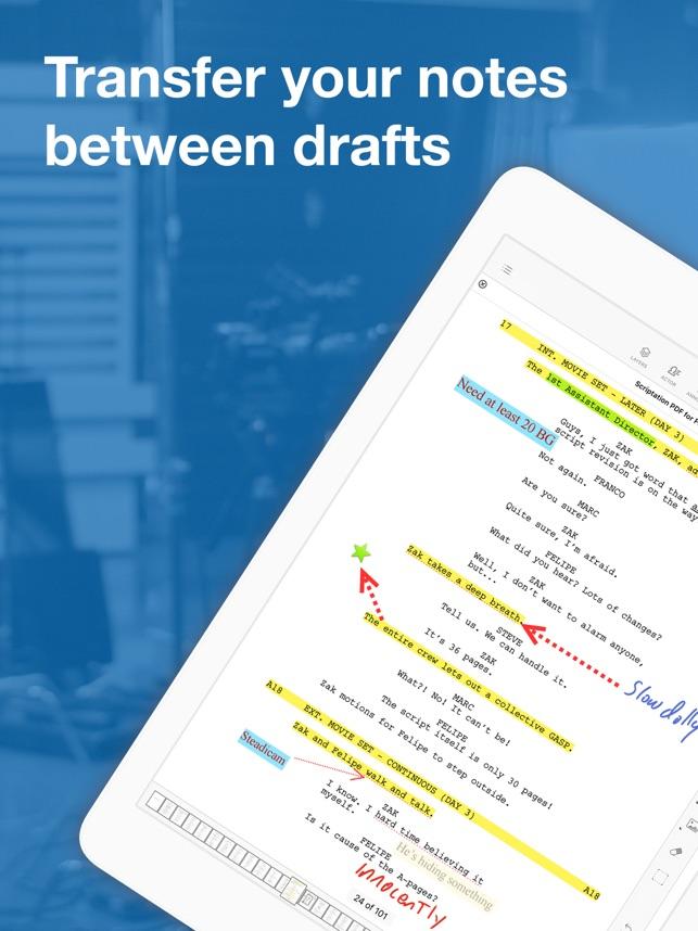 Scriptation PDF for Film & TV on the App Store