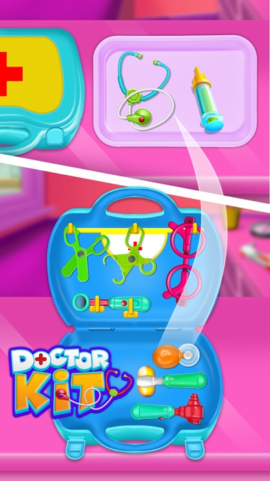 Doctor kit toys - Doctor Game screenshot 2
