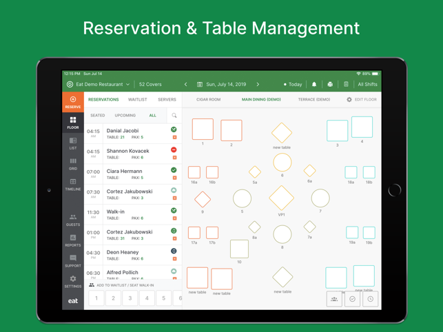 Restaurant Manager by Eat on the App Store