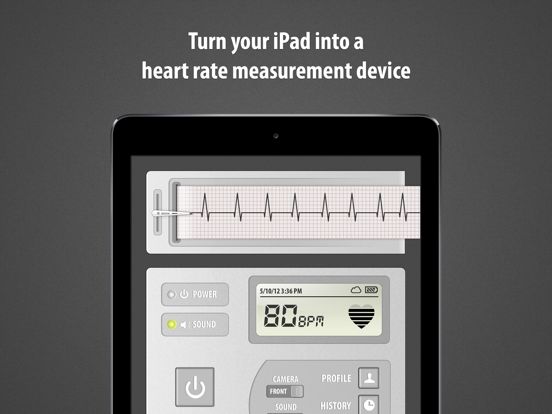 Cardiograph: Heart Rate Pulse Measurement using your iPhone & iPad Camera - Track the Cardio Fitness of your Friends and Family screenshot