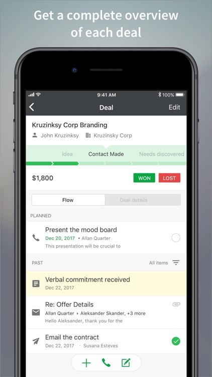Pipedrive – Sales CRM screenshot-4