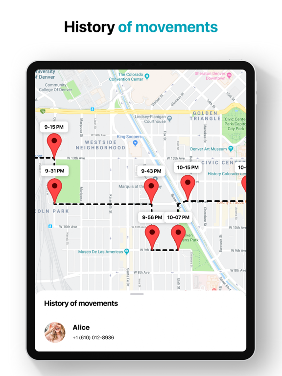 iMapp - Find my Phone, Friends screenshot