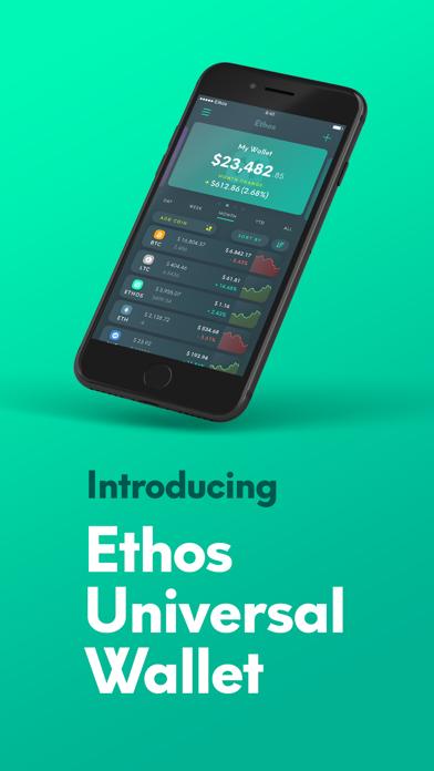 Ethos - Universal Wallet screenshot one