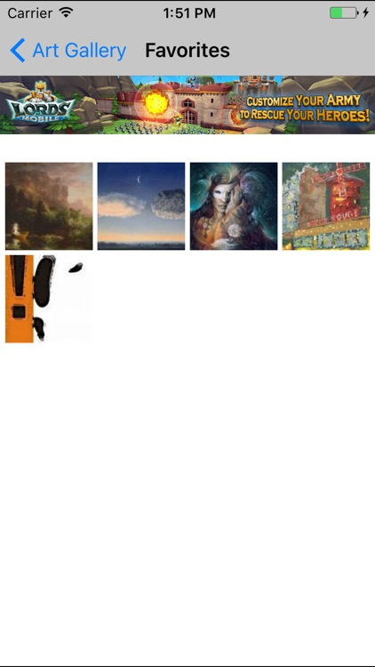 Art Gallery App screenshot-3