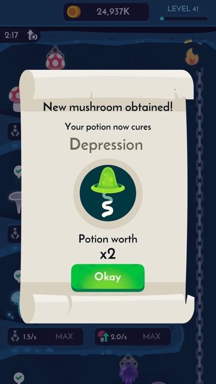 Magic Mushrooms - Idle Game