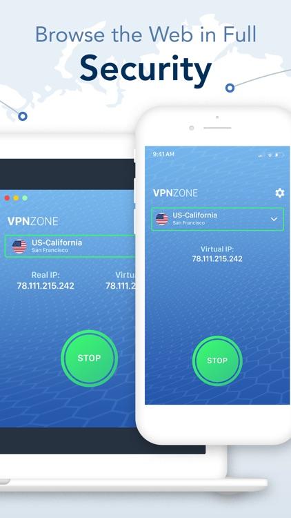 VPN Zone - Fast & Easy Proxy screenshot-3