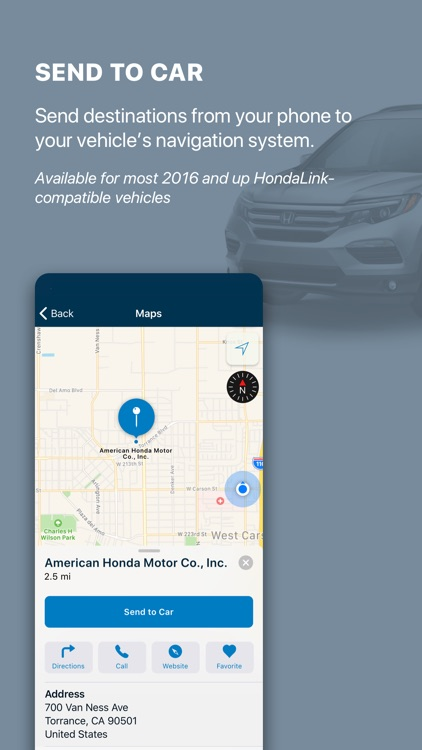 HondaLink screenshot-3