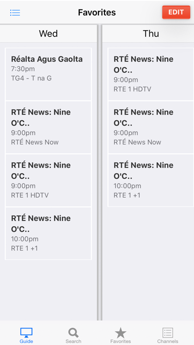 TV Guide Ireland screenshot three