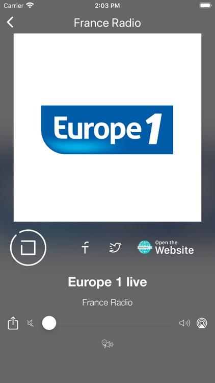 France Radio Online | FM et AM screenshot-7