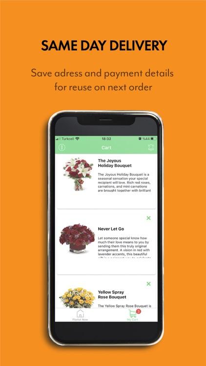 Florist Now- Flowers & Gifts screenshot-3