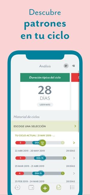 Calendario Fertil.Clue Calendario Menstrual En App Store