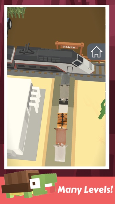 Animal Cross: Road to Rescue! Screenshot on iOS