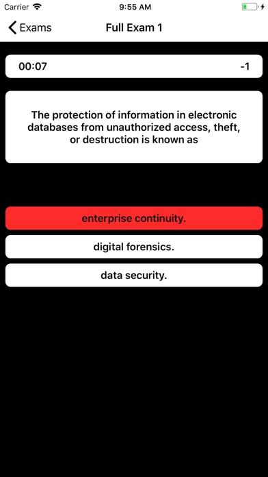 DSST Cybersecurity Buddy screenshot 3