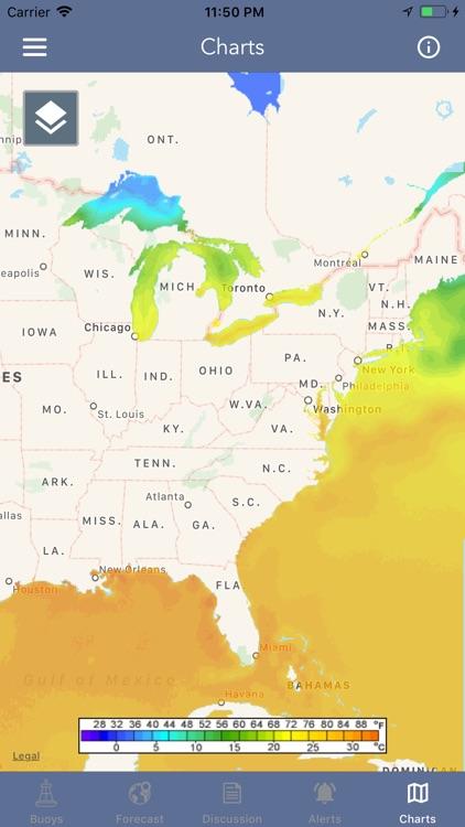 Marine Weather Forecast Pro screenshot-8