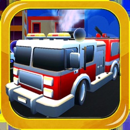 Fire Truck Driver City Rescue
