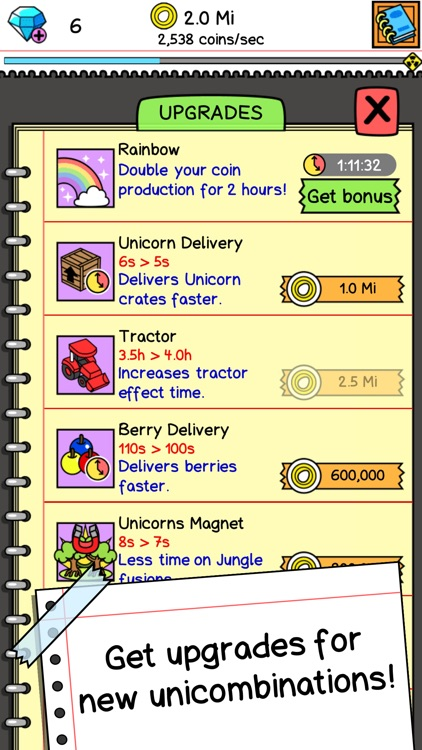 Unicorn Evolution Clicker Game screenshot-3