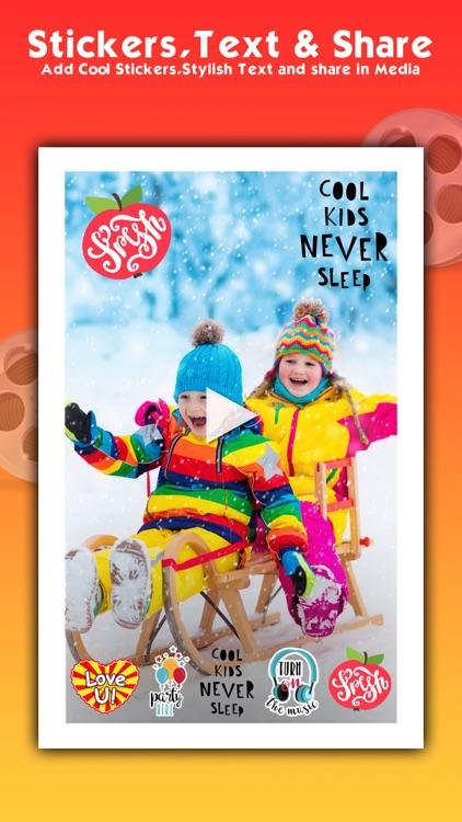 Video Maker Pro slideshow app screenshot-4