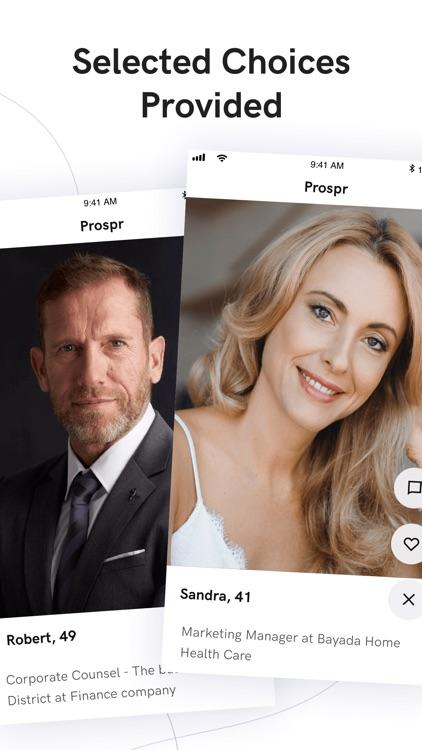 Prospr - Smart Dating screenshot-0