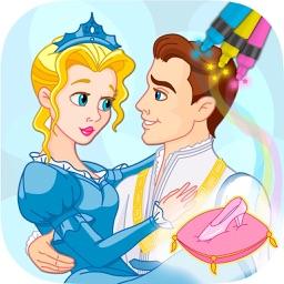 Cinderella Coloring Book Games