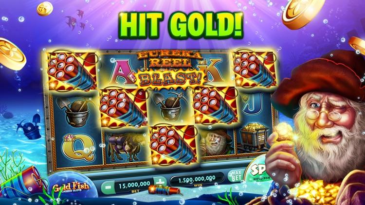Gold Fish Casino Slots Games screenshot-5
