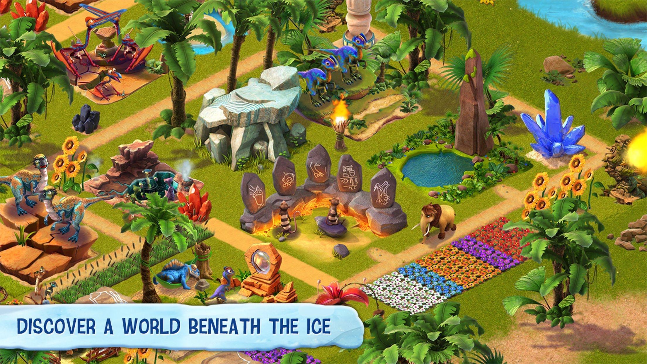 Ice Age Village Screenshot