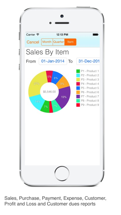 Invoice Tracker Sales Email screenshot-3
