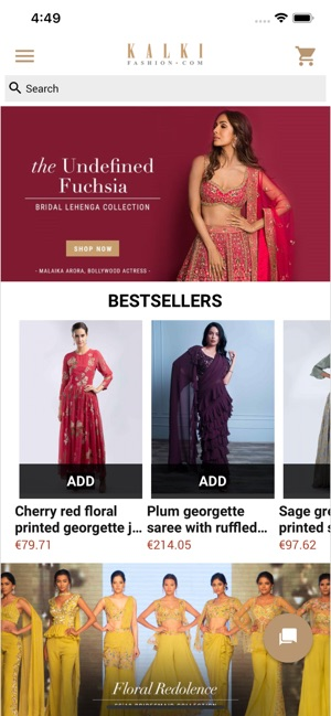 22eb32f295 Kalki Fashion: Online Shopping on the App Store