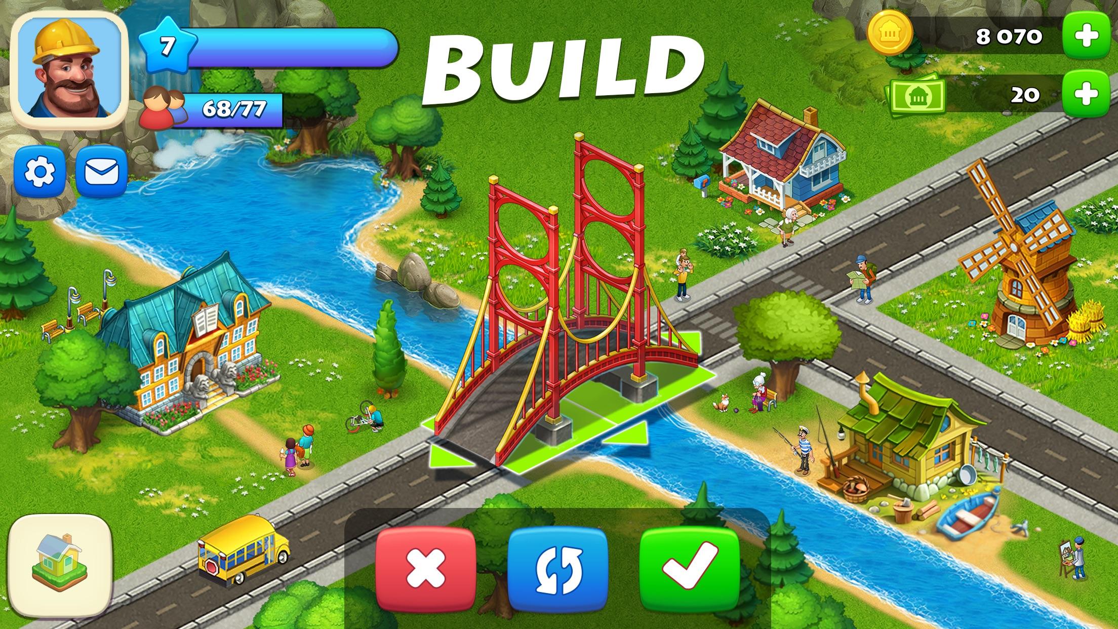 Township: Farm & City Building Screenshot