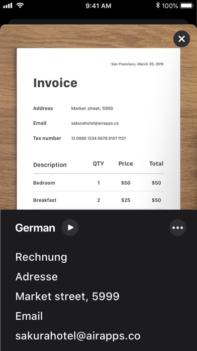 TraduCam - Photo Translator Screenshot