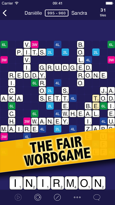 WordCrex: The fair word game screenshot one