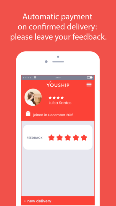 YOUSHIP - Delivery on demand screenshot four