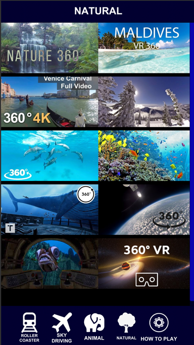 VR 360 Roller Coaster Video HD screenshot four