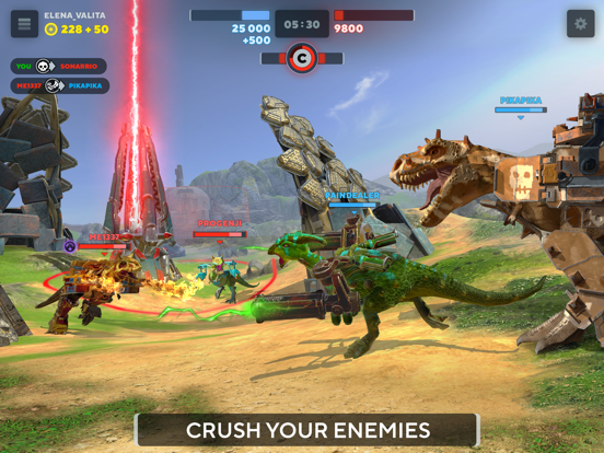 Dino Squad: Online Action screenshot 7