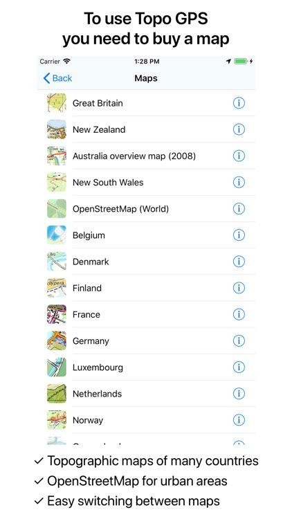 Topo GPS screenshot-9