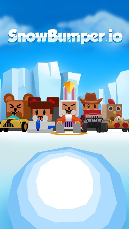 SnowBumper.io - go kart frenzy screenshot-0